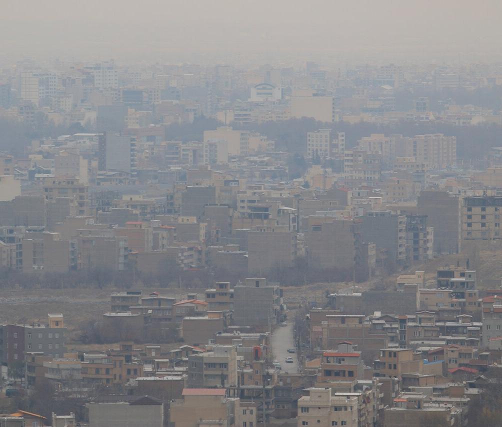 هوای ارومیه آلوده شد/لزوم رعایت نکات ایمنی