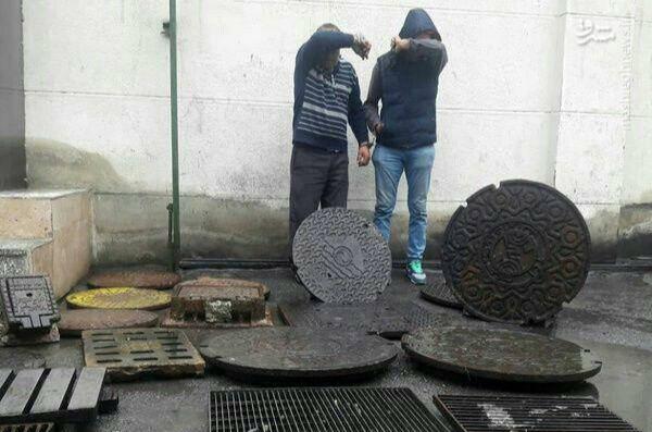 دستگیری سارق سابقه دار دریچههای گاز و مخابرات در ارومیه
