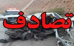 سانحه رانندگی در محور تبریز-ارومیه ۵ مصدوم برجای گذاشت