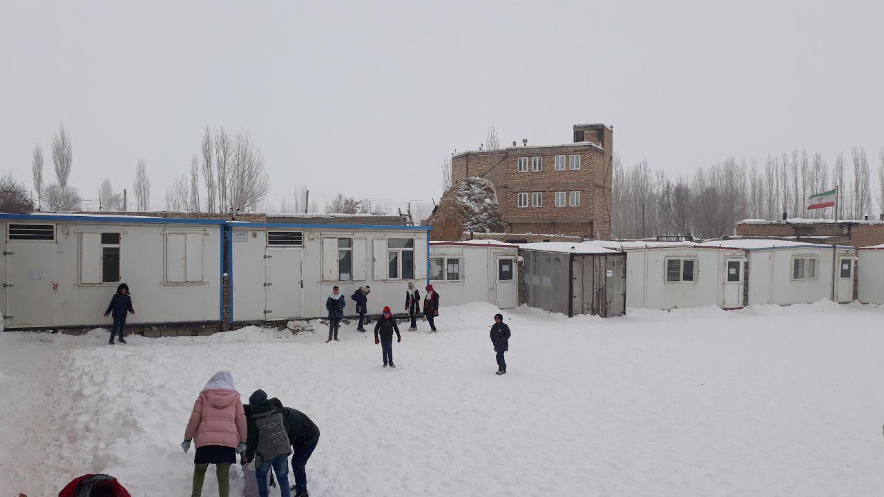 رنج سرما و گرما در مدارس کانکسی صومای برادوست ارومیه
