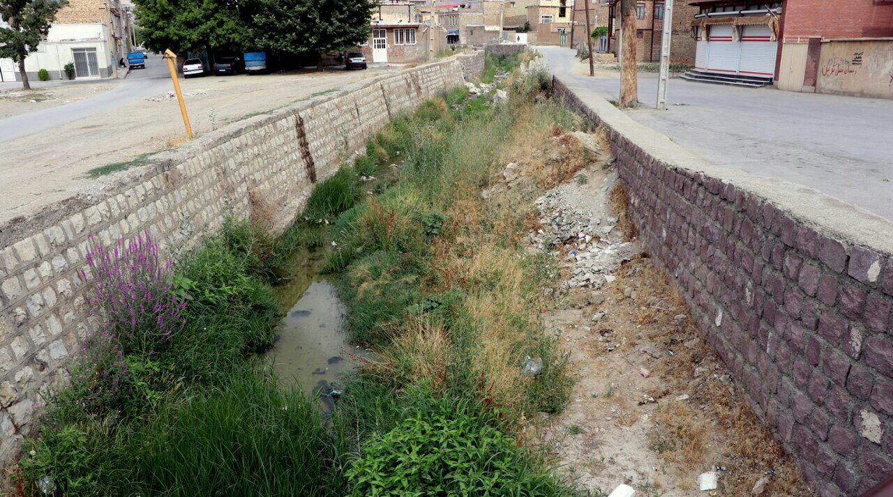 🔺نگاهی به یک نهرشهری، به عنوان مرز نابرابری اجتماعی در محله دیزج سیاوش ارومیه