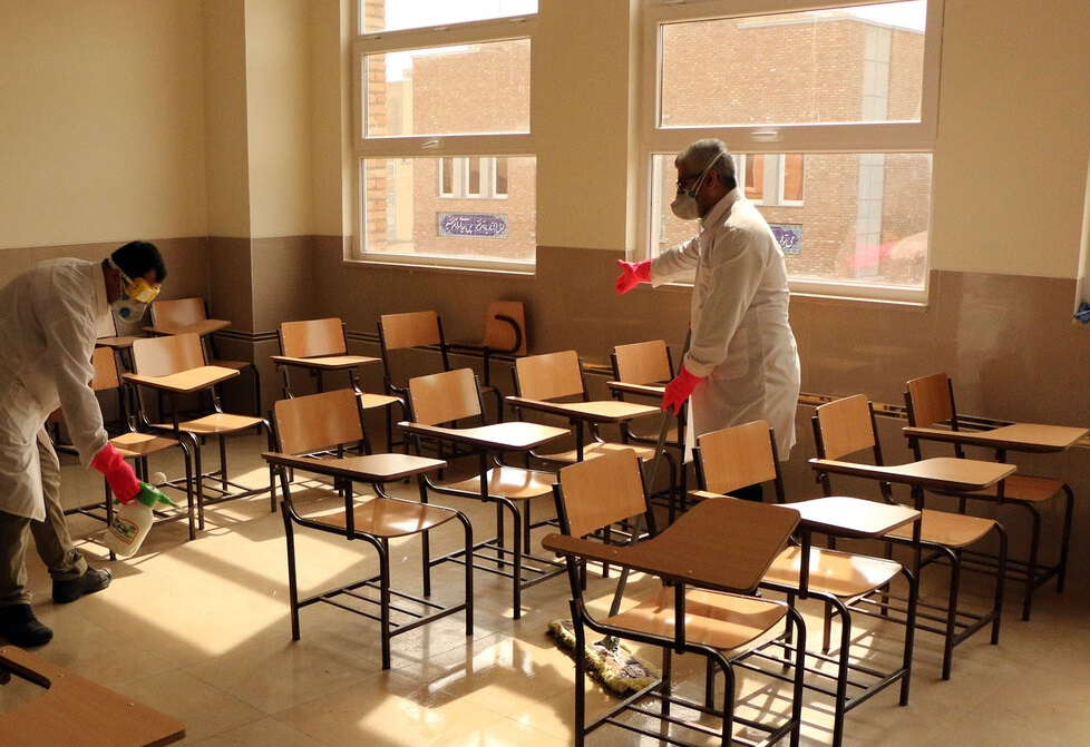 مدارس باید روزانه دو بار ضدعفونی شوند+ جزئیات پروتکل وزارت بهداشت